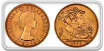 British Gold Sovereign 91.7 % Pure