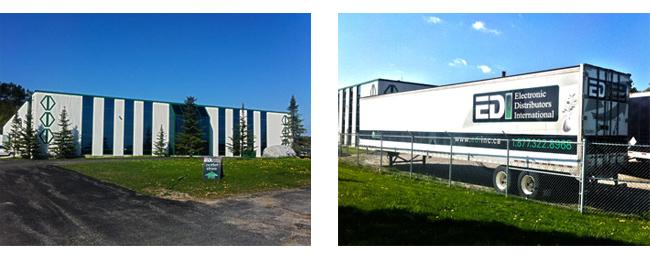 EDI Warehouse and Truck