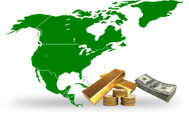 We Buy Gold Accross North America