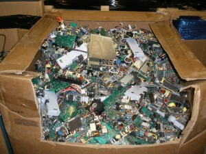 electronic recycling and thieves